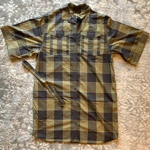 Burberry Short Sleeve Shirt Dress
